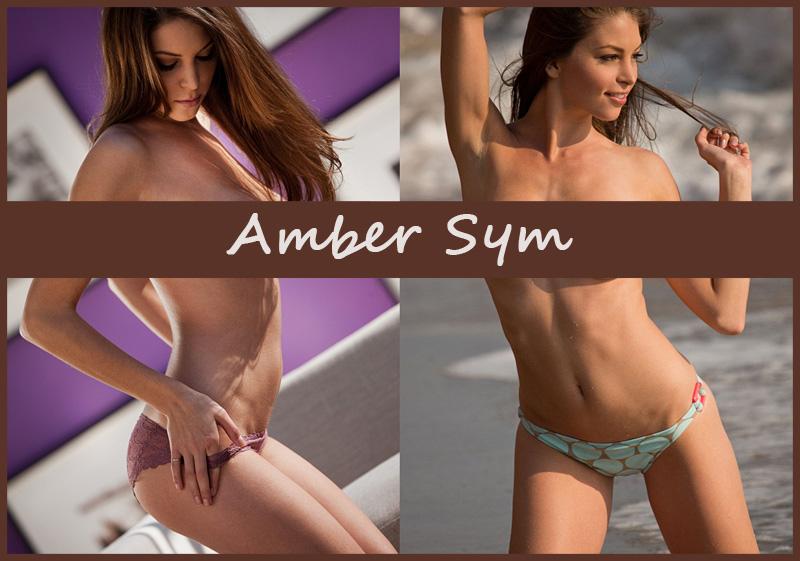 Американская модель Amber Sym (Tara Marie)