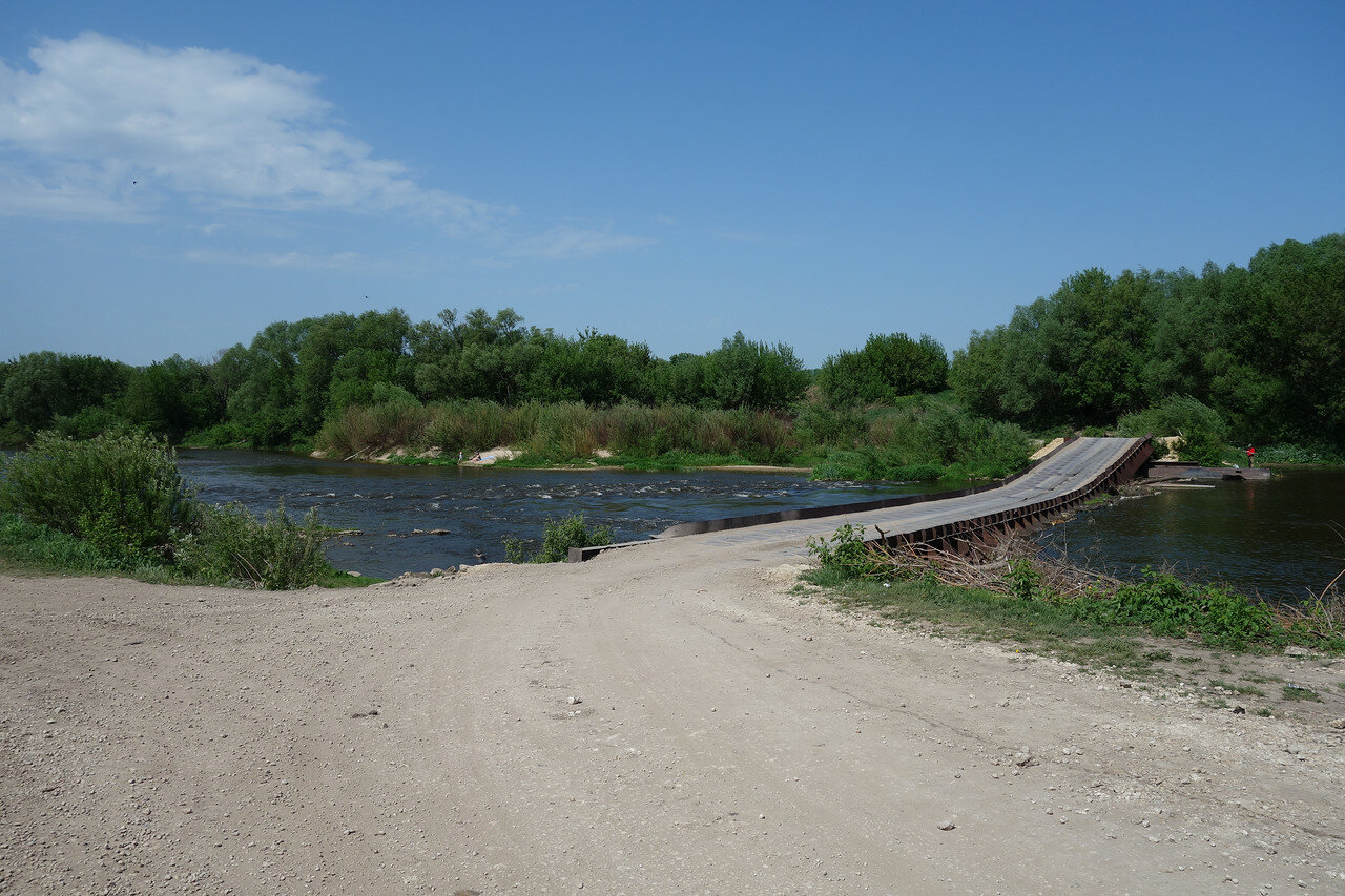 мост через Дон у села Вторая Куликовка