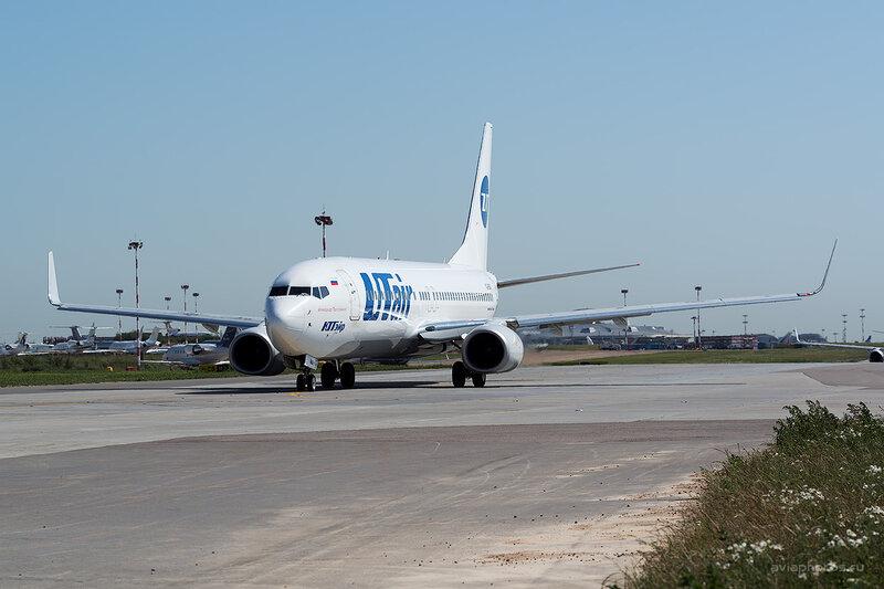 Boeing 737-8GU (VQ-BQS) ЮТэйр D806217