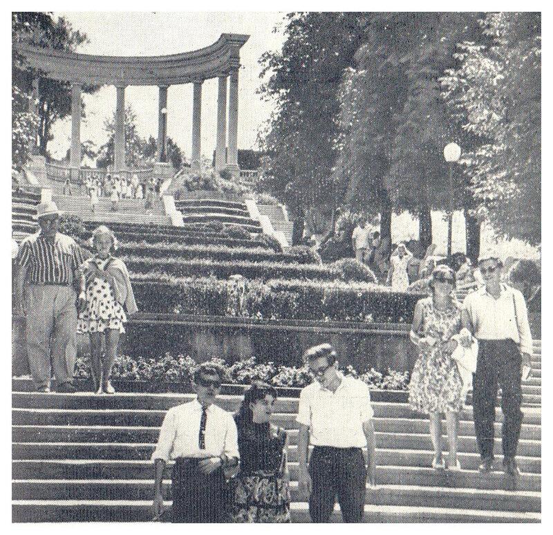 60-е. Каскадная лестница.jpg