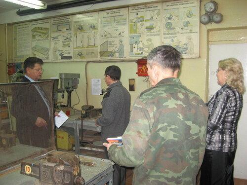 проверка по охране труда г. Канаш 2014