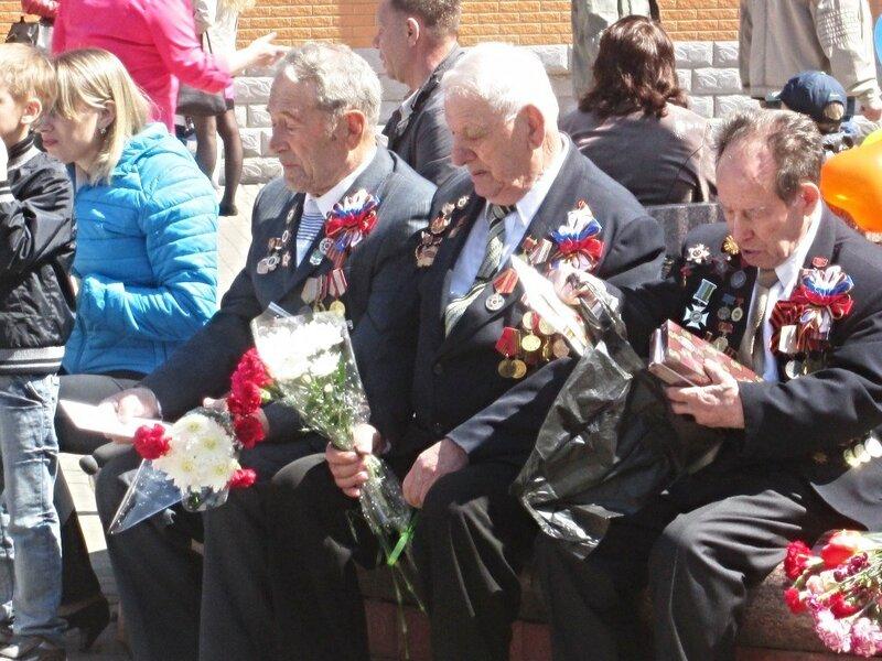 9 мая. ветераны