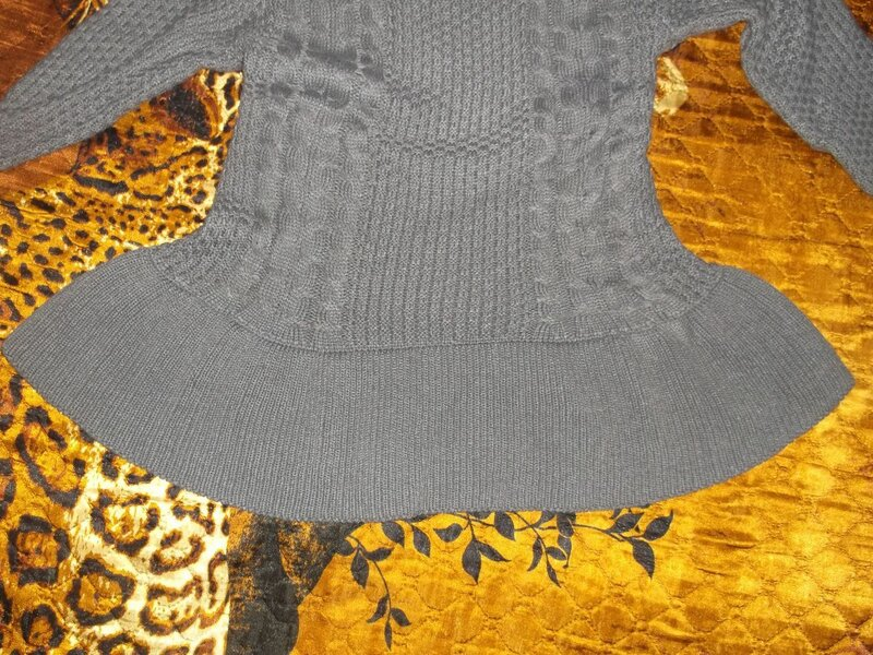 CninaBuye: Теплая женская кофта