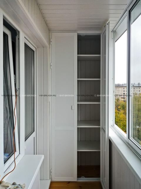 Дизайн шкафов для лоджии.