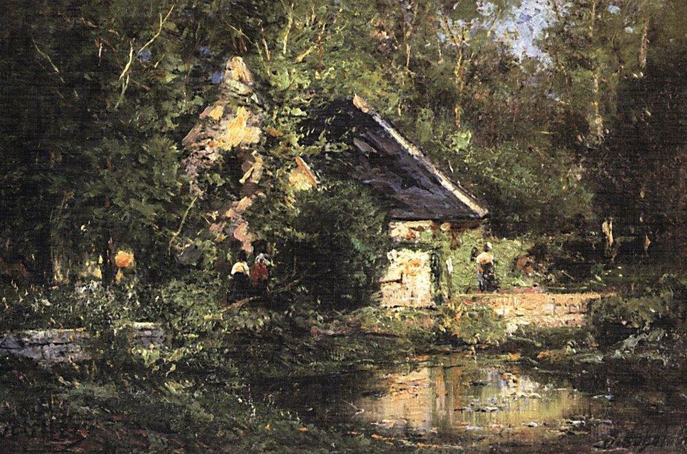 Мельница в Вёле. Весна. 1882-1883.jpg