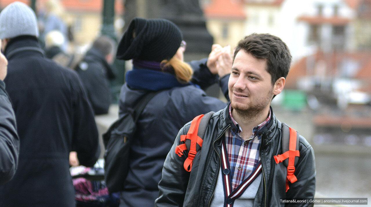 Импортные люди. Прага. Чехия