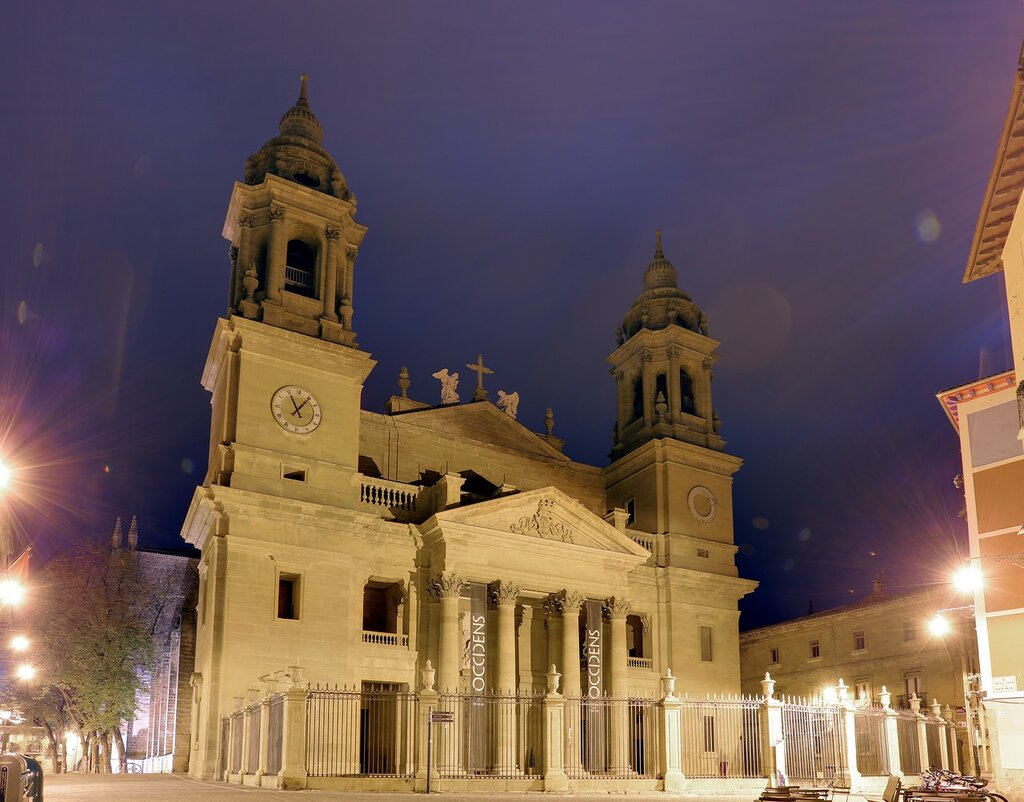 Pamplona. The Cathedral ( Catedral de Santa María, Pamplona)