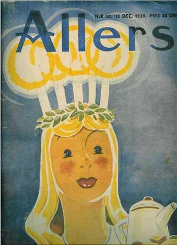 Magazine cover 1939.