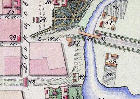 План города Тамбова 1832 г.
