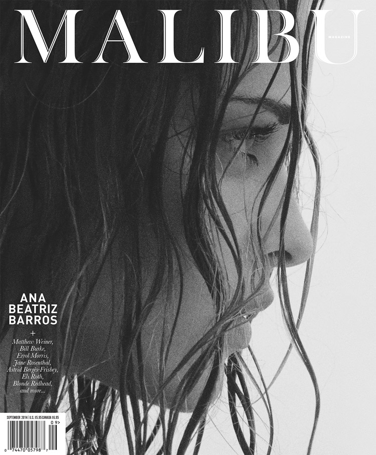 Ана Беатрис Баррос в журнале Malibu