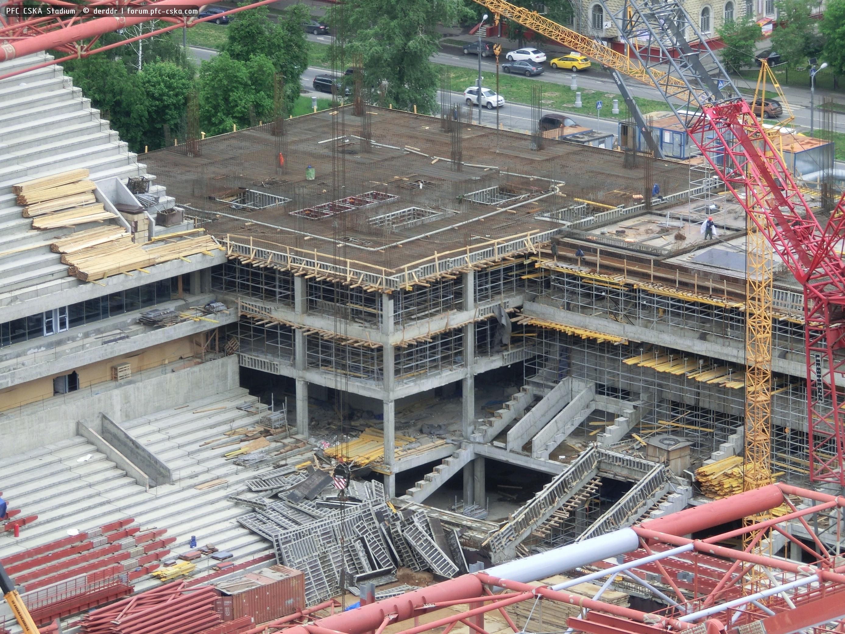Футбол стадион цска строительство фото