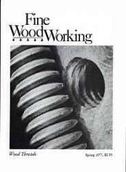 Журнал Fine Woodworking №6 Spring 1977
