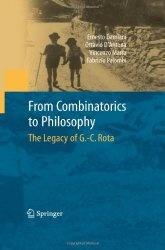 Книга From Combinatorics to Philosophy: The Legacy of G.-C. Rota