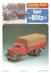 Schreiber-Bogen - грузовик Opel Blitz
