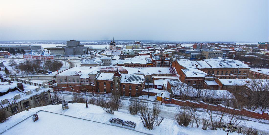 Вид на Томск