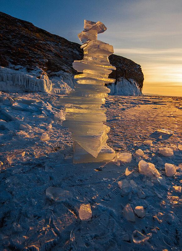 Прозрачный лёд