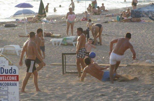 Черногория, пляж, спорт