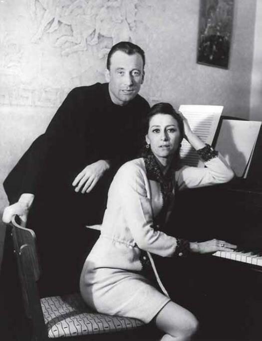 Майя и Щедрин. Фото В. Малышева