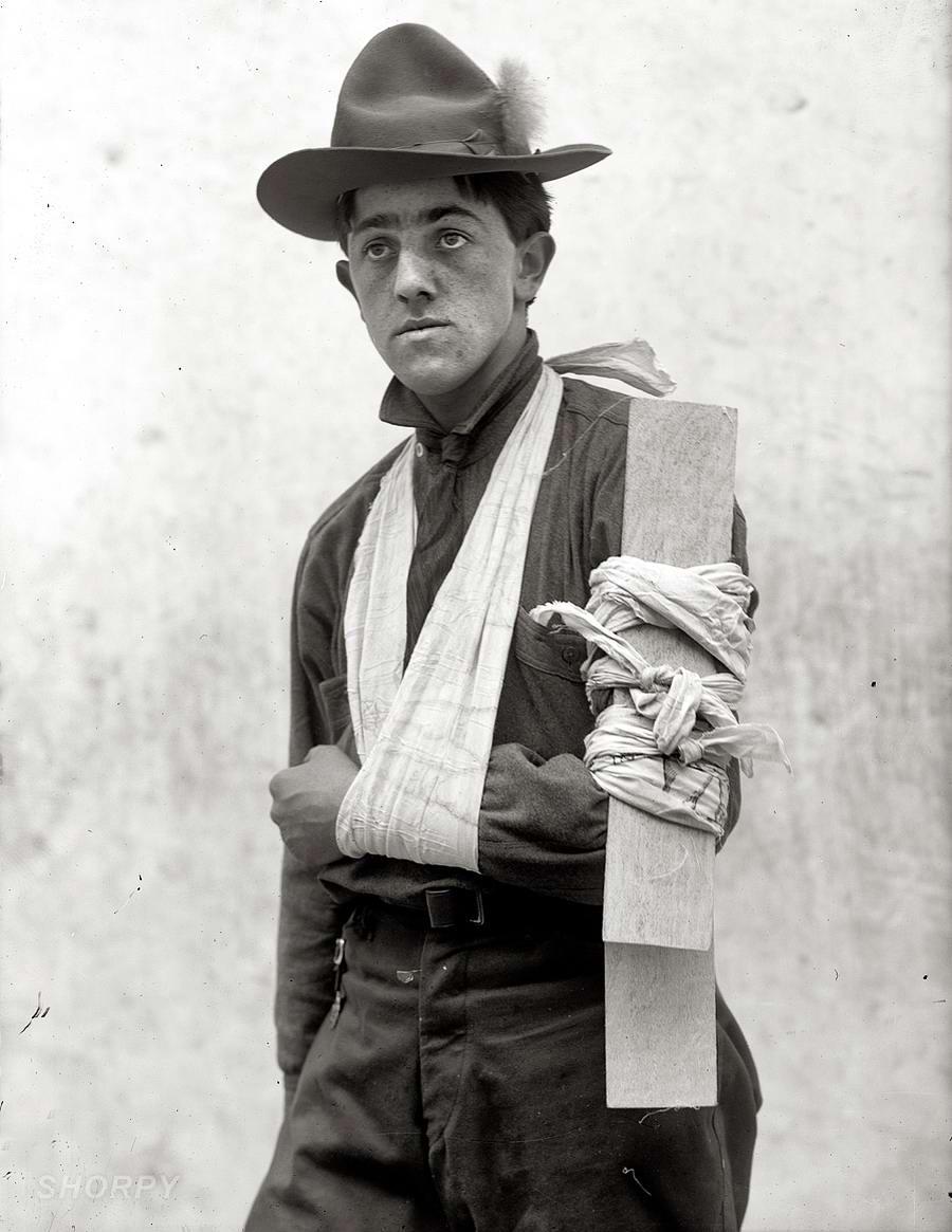 Американские бойскауты начала 20-го века на снимках фотографов (11)