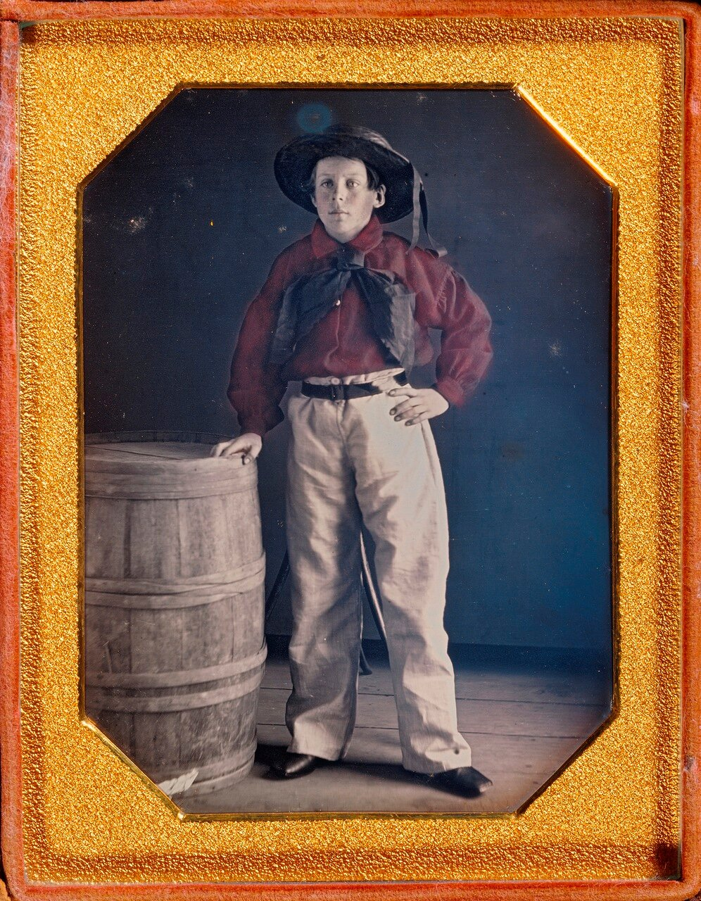 1848. Портрет молодого моряка. США.