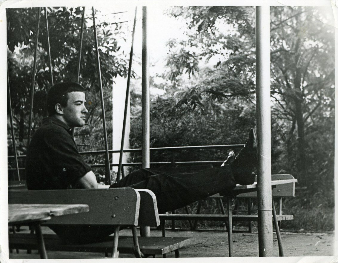 1965 год. Парк за общежитием РИСИ по проспекту Северный 5