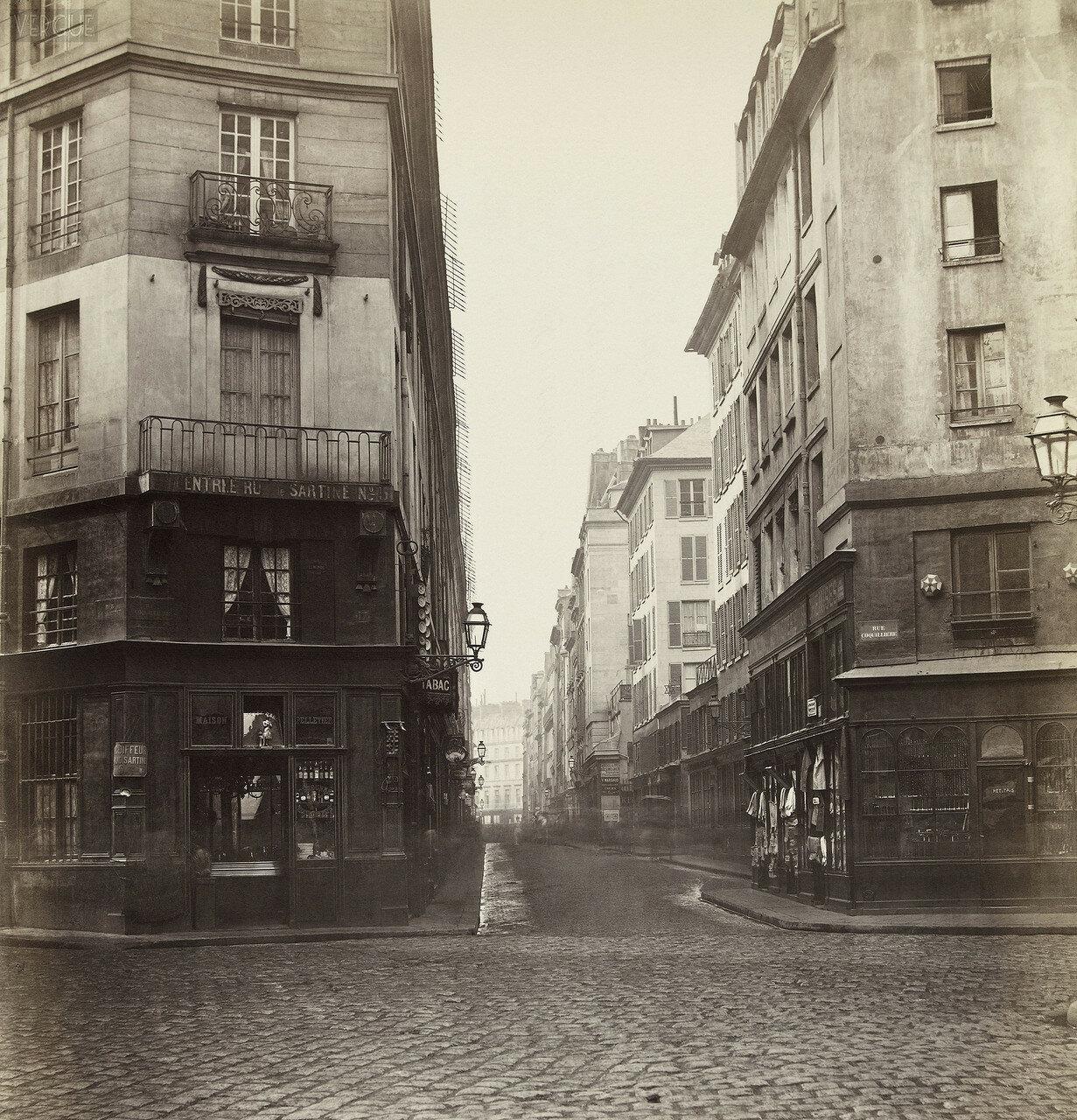 Рю де Грёнель. 1868
