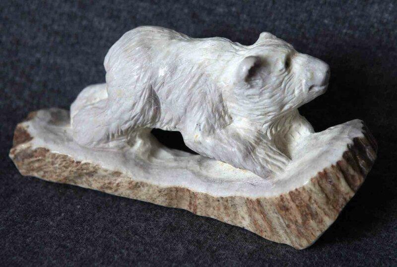 Скульптура, медведь