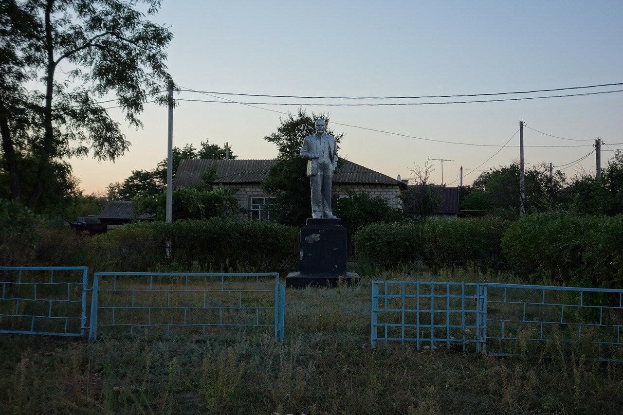 Ленин суровый в слободе Криворожье