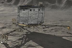 Зонд Philae вбил пенетратор MUPUS в поверхность кометы