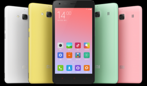 Xiaomi показала свой бюджетный смартфон