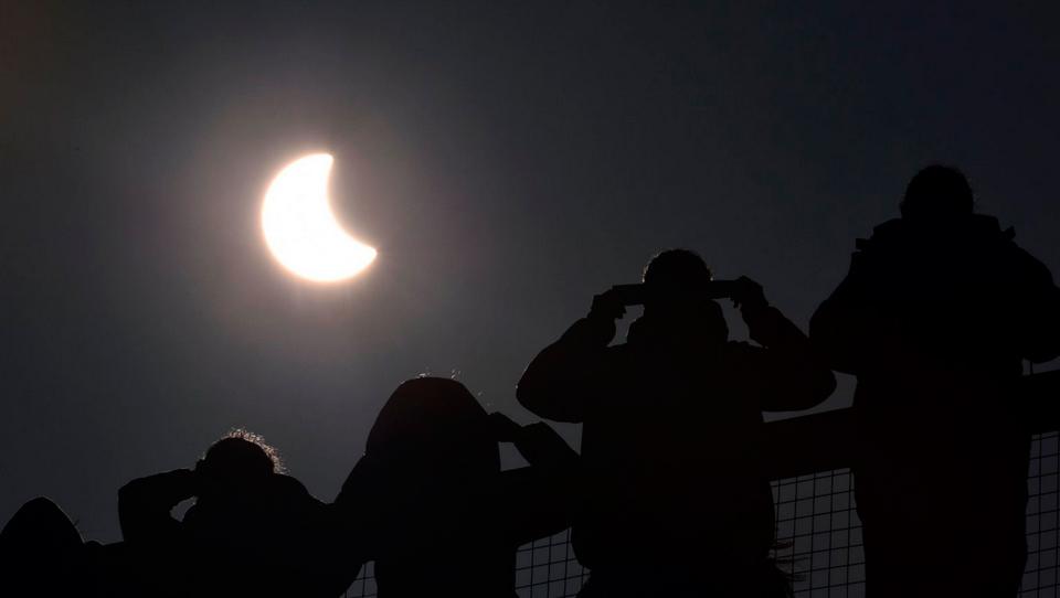 Солнечное затмение в марте 2015 года