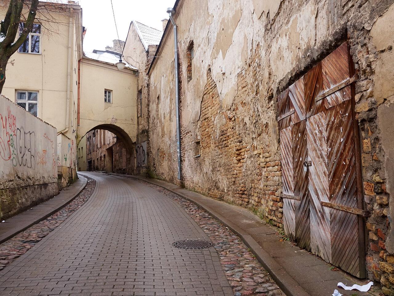 Вильнюс замковая улица фото