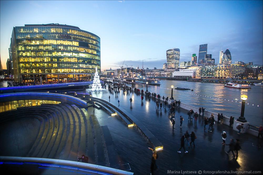 Предновогодний Лондон