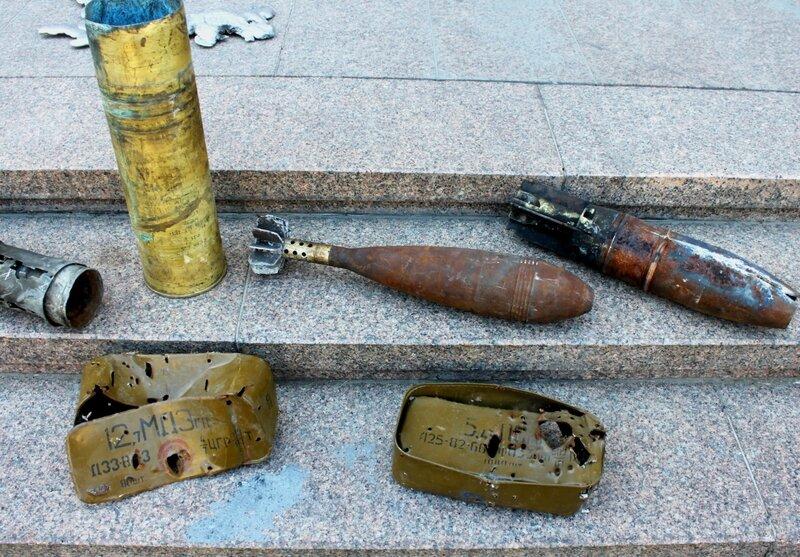 Выставка военных артефактов