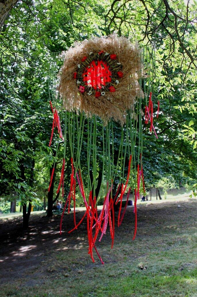 Инсталляция Татьяны Грицай