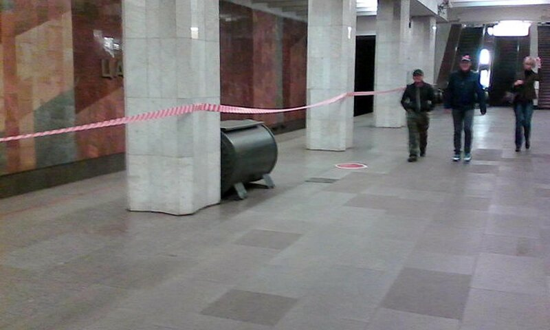 Закрытие станции метро Коломенская