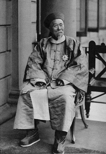 Ли Хунчжан, наместник Чжили. 1896 год