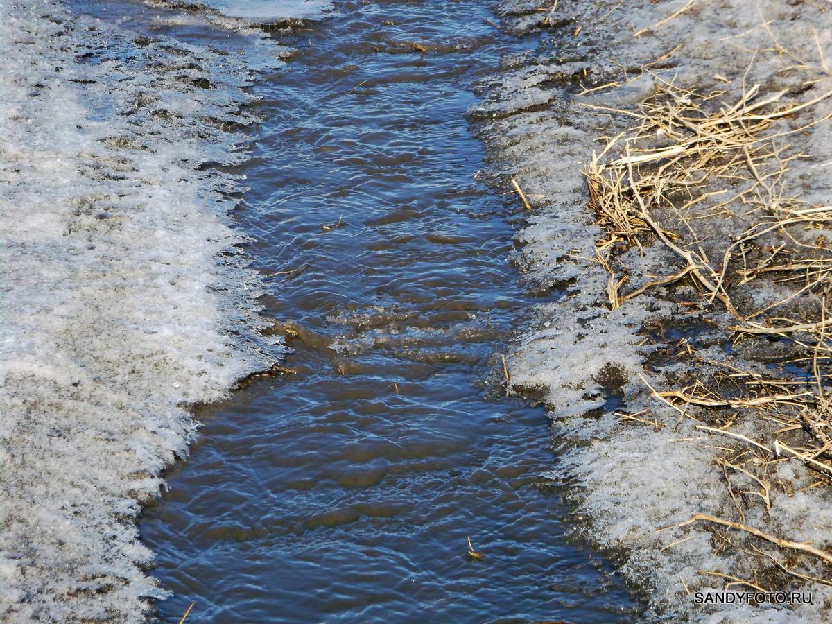 Весна наступает или обзор на ручьи, лужи и сухой асфальт