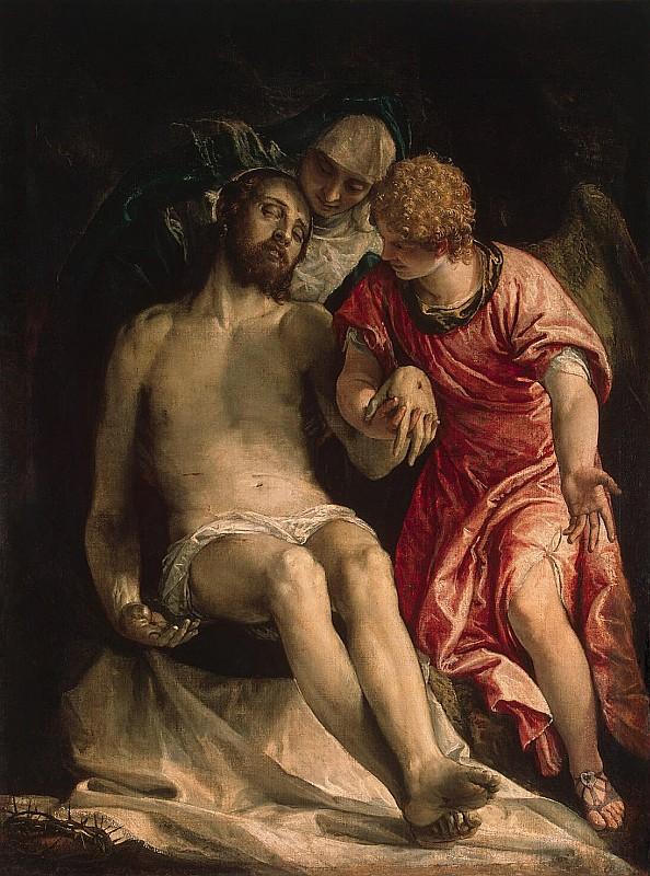 Паоло Веронезе. Оплакивание Христа, 1582, холст, масло, 147х111,5см, Эрмитаж