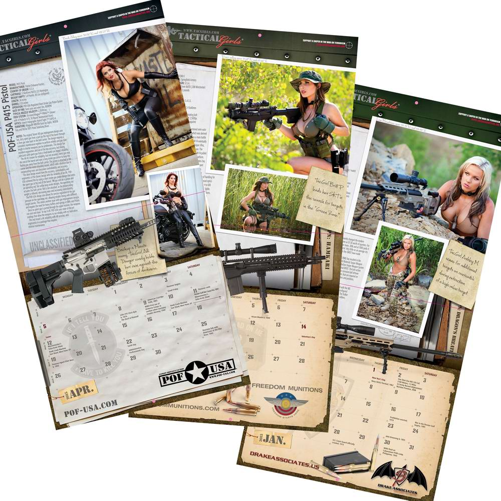 Стрелковый календарь Tactical Girls (20)