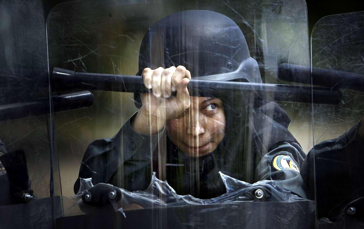 Афганские женщины из спецподразделений МВД Афганистана: картинки из жизни (21)