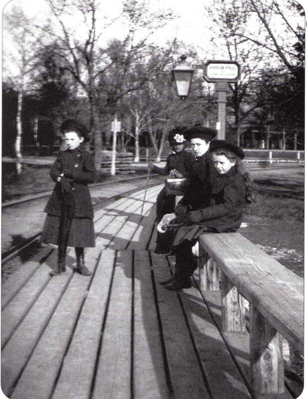 12506 Остановка паровичка _Ивановский проезд_(Петровско-Разумовский проезд) 1904.jpg