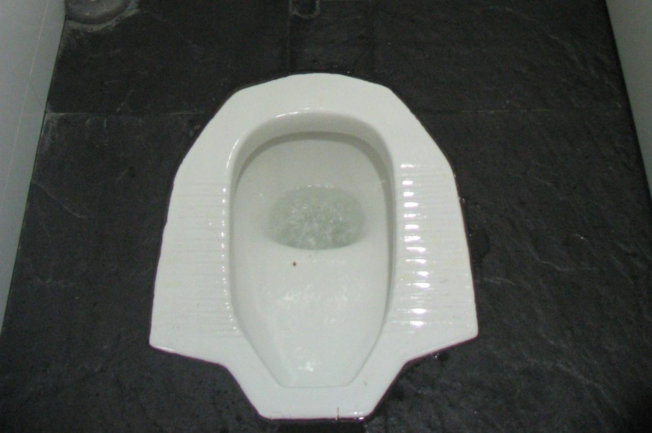 Классика азиатского туалетостроения