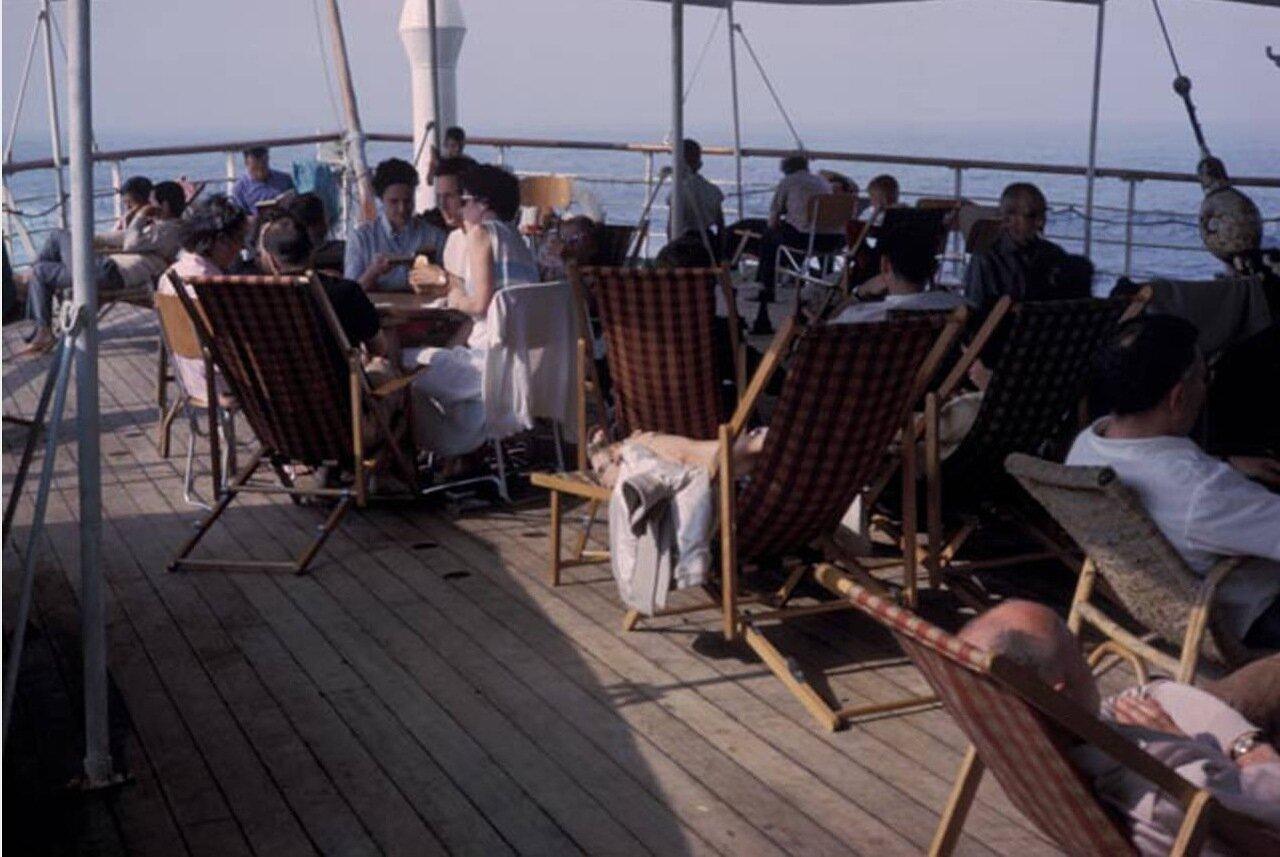 На палубе корабля
