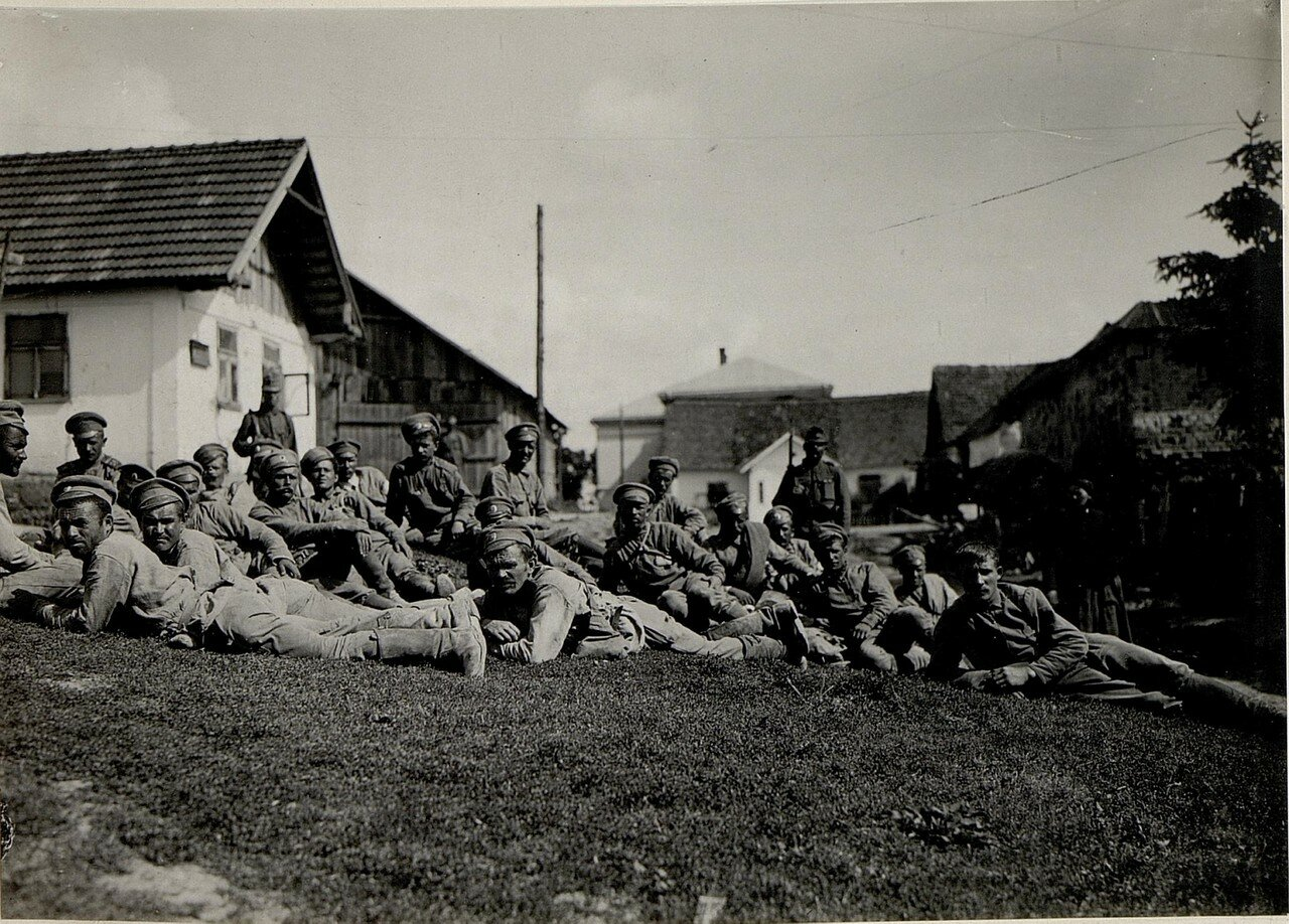 Русские военнопленные в  Нараеве