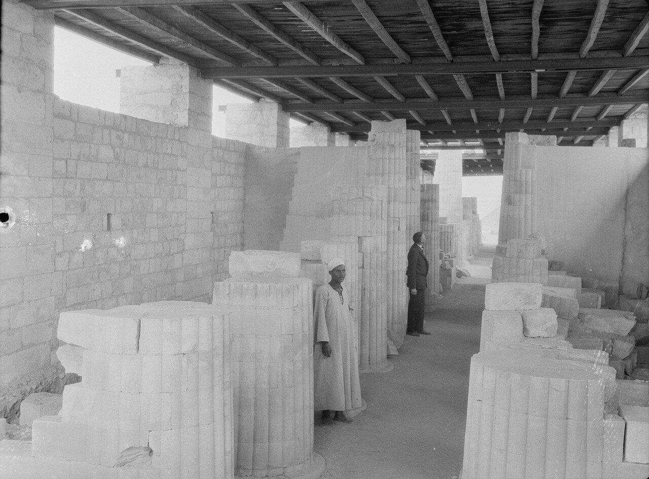 Раскопки Альфреда Моуда. Саккара. Реликвии из раскопок. 1934
