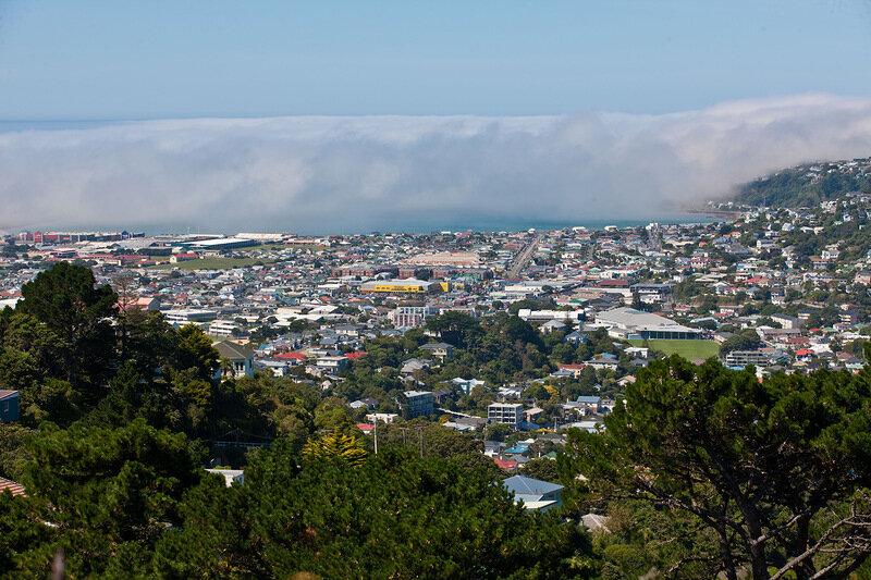 Веллингтон-столица Новой Зеландии
