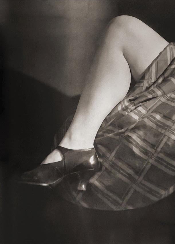 Woman's leg, 1920s Photographer_ Jaromir Funke, Czecho-Slovakia