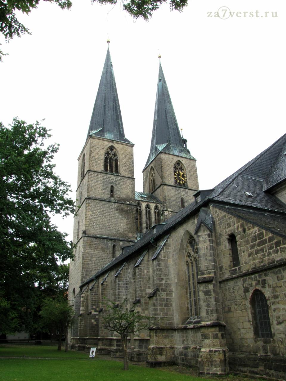 Церковь Святого Николая. Кведлинбург, Германия