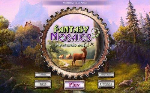 Fantasy Mosaics 9: Portal in the Woods (EN)